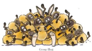Big group hug!