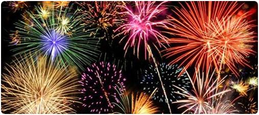 a fireworks