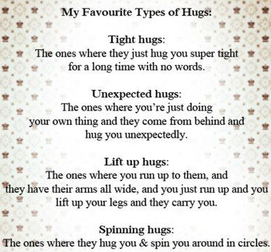 afavourite hugs