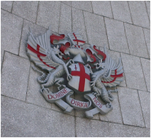 2 dragons are London's Code of Arms