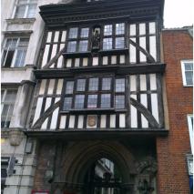 A Tudor house
