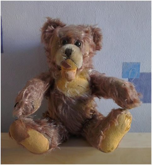 "My 52 year old teddy called ""Zotti"""