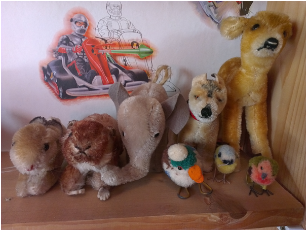 Deer,dog,elephant,marmot,rabbit, birds