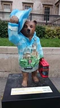 The Bear of London designed by Boris Johnson Mayor of London