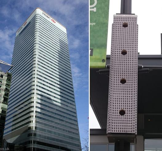 Canary Wharf HSBC Building